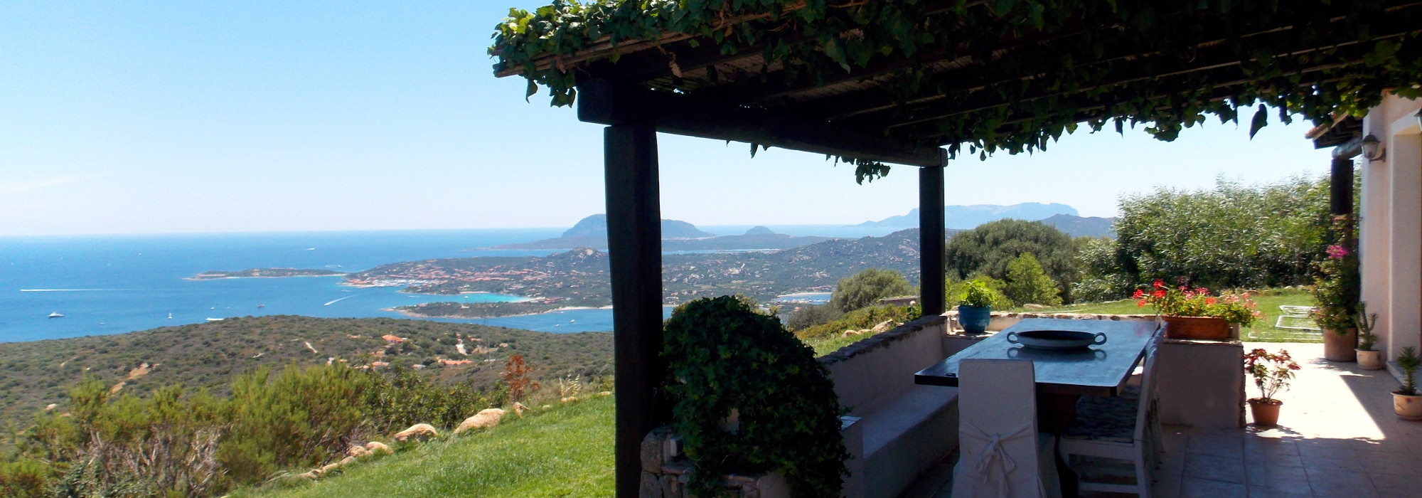 Costa Smeralda Villa panoramica
