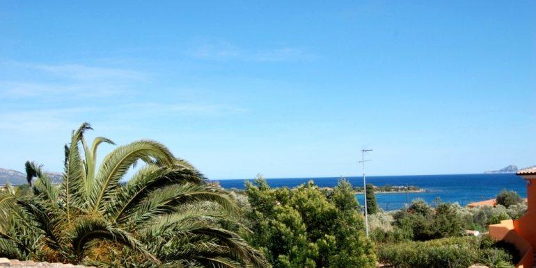 Olbia Pittulongu villetta singola bilivello vista mare e giardino privato