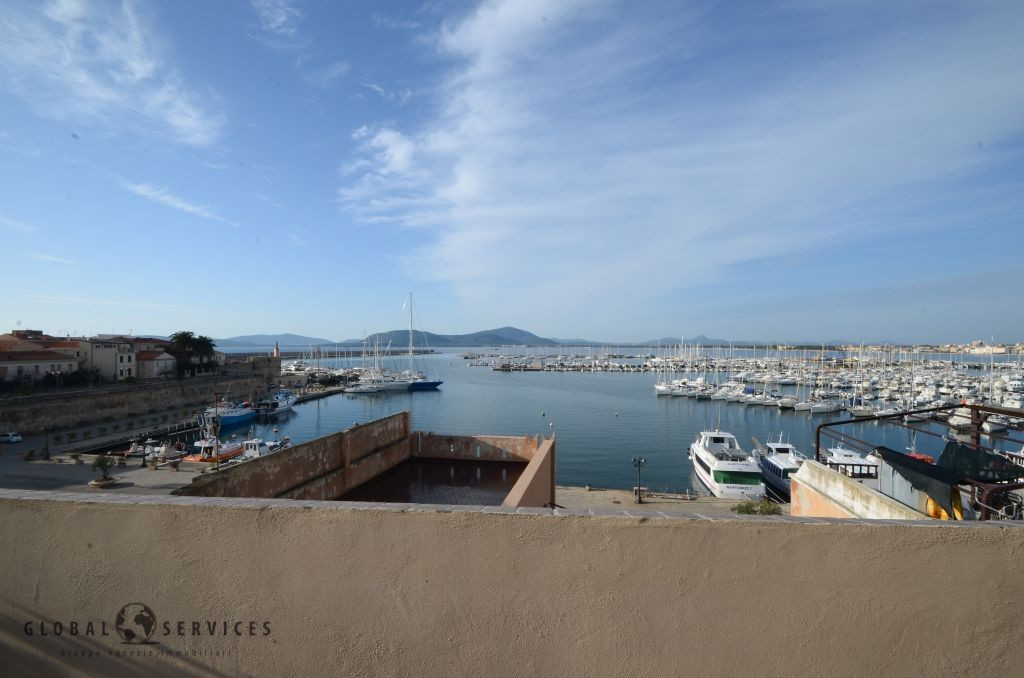 Penthouse apartment for sale Alghero Piazza Civica
