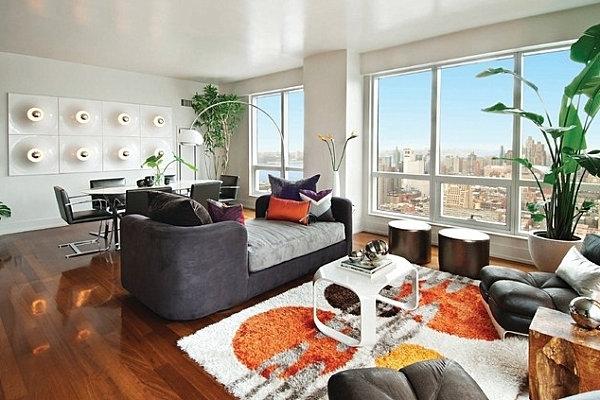 Arredare il soggiorno con le piante