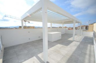 Penthouse with sea view for sale in Alghero