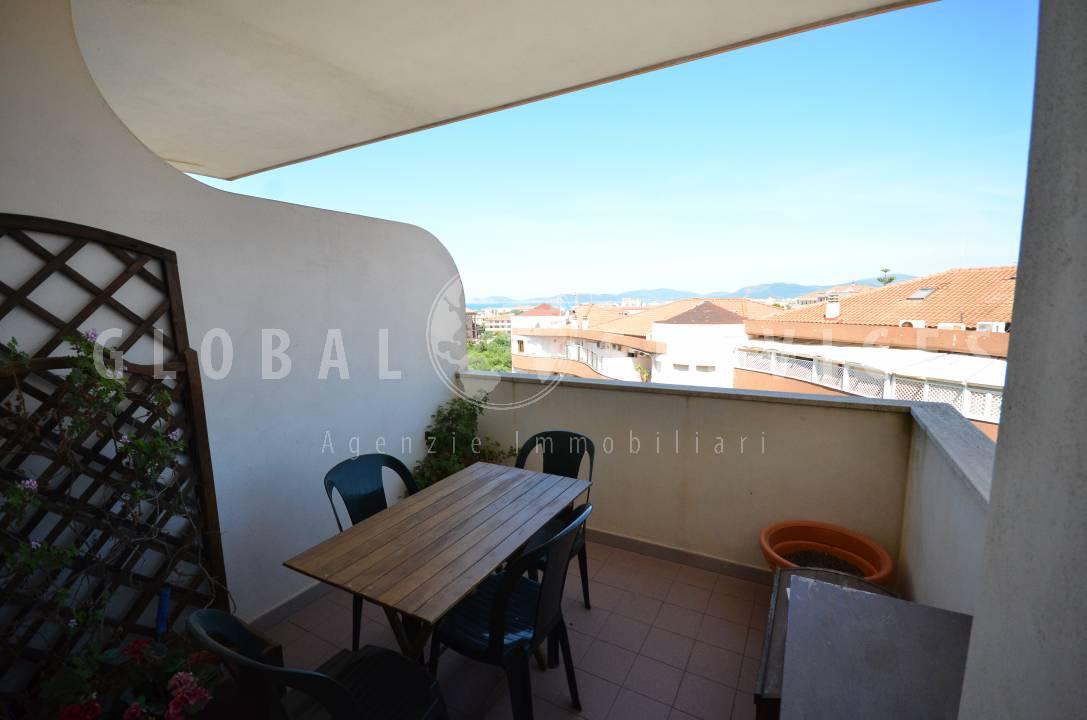 Panoramico appartamento in vendita Alghero