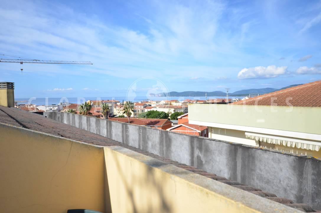 Attico vista mare via Pacinotti Alghero